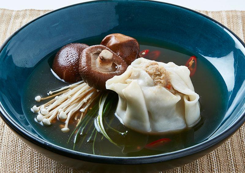 Beef and Pork Dim Sim Soup